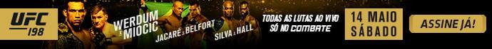 Banner notícia UFC 198 (Foto: Combate)
