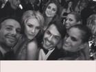 Famosos fazem selfie em baile da amfAR