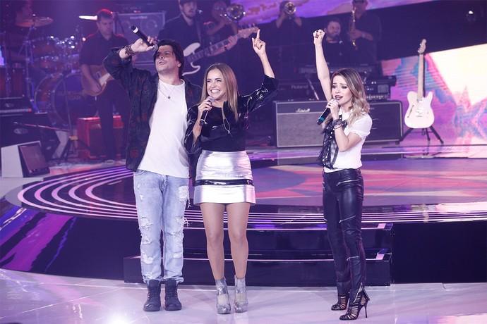 """Paulo Ricardo, Daniela Mercury e Sandy cantam """"Lilás"""" na estreia do novo SuperStar (Foto: Inácio Moraes/Gshow)"""
