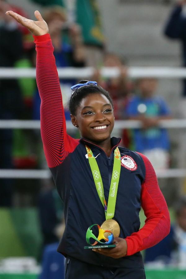 Simone Biles, campeã da Ginástica Artística nas Olimpíadas do Rio (Foto: Getty Images)