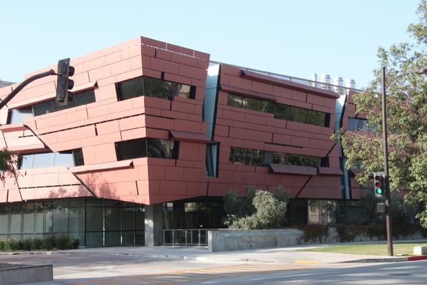 Prédio do Centro Cahill de Astrociência e Astrofísica no campus do Caltech em Pasadena, na Califórnia (EUA) (Foto: Tales Caldas/Arquivo Pessoal)