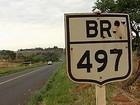 Pesquisa da CNT aponta que são ruins as condições da BR-497 em MG