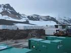 Módulos que vão operar na Antártica já estão posicionados para uso