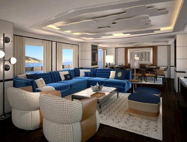 Trussardi cria pacote de decora o customizada para iates for Arredamento case di lusso interior design
