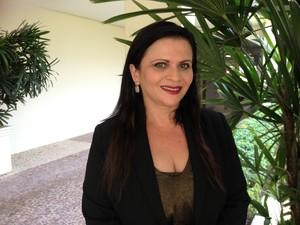 Eula Angelim é candidata ao governo do Tocantins pelo PSOL (Foto: Monique Almeida/G1)