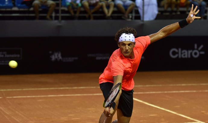 João Souza, Feijão, Rio Open tênis  (Foto: Fotojump)