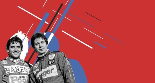 Senna x Brundle (Divulgação)