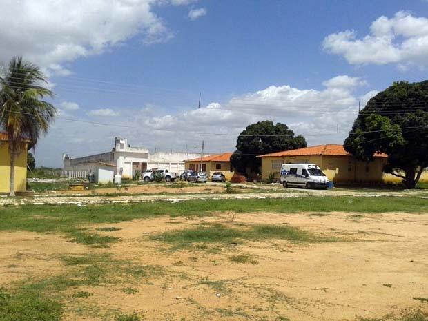 Penitenciária Mário Negócio, em Mossoró, também registrou motins (Foto: Sara Cardoso/InterTV Cabugi)