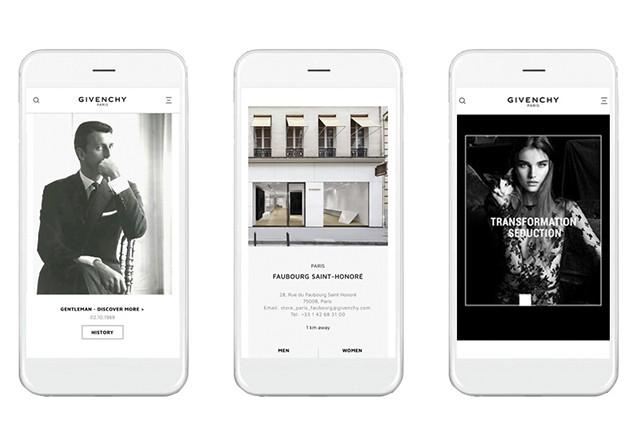 Givenchy reformula site e adiciona e-commerce  (Foto: Divulgação)