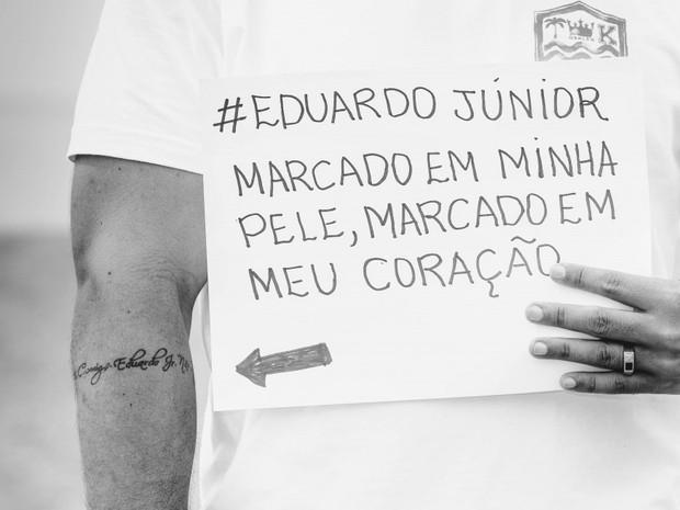 Família pede justiça um ano após morte de PM no Espírito Santo (Foto: Patrícia Monteiro/ Arquivo Pessoal)