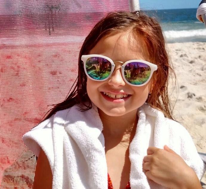 Rafa Gomes The Voice Kids na praia (Foto: Arquivo pessoal)