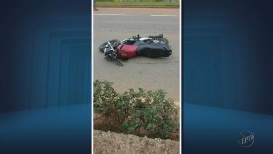 Motociclista morre após bater em mureta na BR-459, em Pouso Alegre