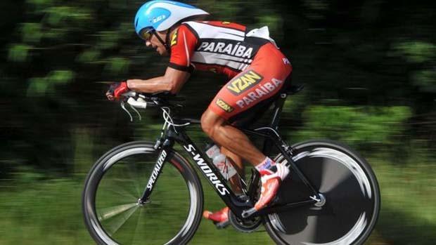Almério Marra, ciclista paraibano (Foto: Divulgação)