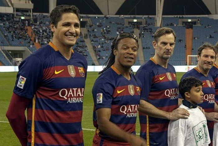 BLOG: Com Belletti e Edmilson, lendas do Barça vencem veteranos do Real Madrid