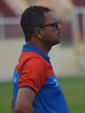 Ferreira, técnico do Itabaiana Sub-19 (Foto: Felipe Martins/GloboEsporte.com)