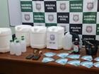 Dupla é detida com óleo de maconha e R$ 12 mil em dinheiro falso no DF