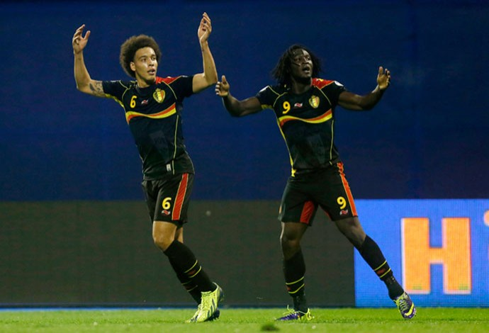 witsel lukaka belgica classifica copa do mundo 2014 2 (Foto: AP)
