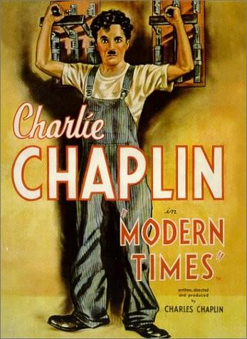 Os Tempos Modernos (1936) - Charles Chaplin (Foto: Divulgação)
