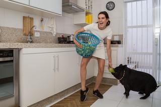 Bacon e Ellen  (Foto: Alessandra Gerzoschkowitz / Divulgação)