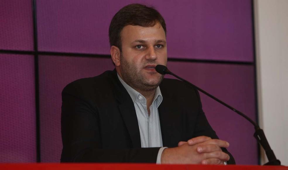Vinicius Pinotti é diretor de futebol do São Paulo há 10 dias (Foto: Rubens Chiri/saopaulofc.net)