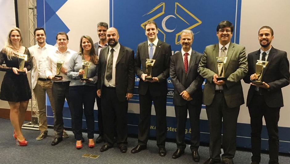 Os vencedores Prêmio Nacional de Empreendedorismo Inovador 2016 (Foto: Divulgação)