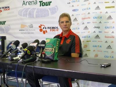 Oswaldo de Oliveira Flamengo  (Foto: Fred Gomes/ Globoesporte.com)