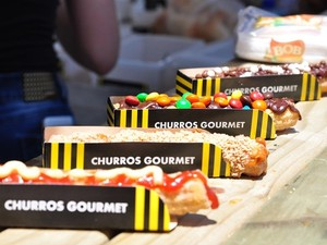 Churros gourmet estarão no evento em Palhoça (Foto: Cristina Estefano/ Divulgação)