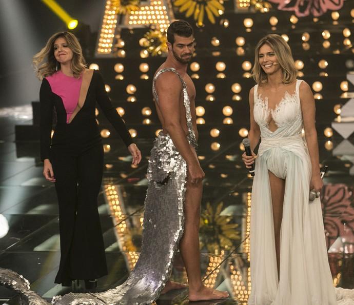 Fernanda Lima se despede do 'Amor & Sexo' (Foto: Inácio Moraes/ Gshow)