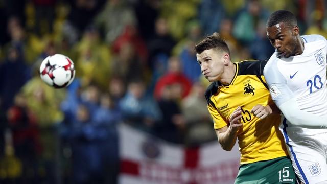 c2fe9e8050 Lituânia x Inglaterra - Eliminatórias da Copa - Europa 2016-2017 -  globoesporte.com