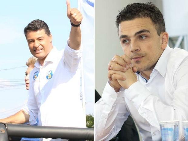 Marcelo Rangel (PPS) e Aliel Machado (Rede) participam de debate na RPC nesta sexta-feira (29) (Foto: Divulgação/Assessoria de imprensa)