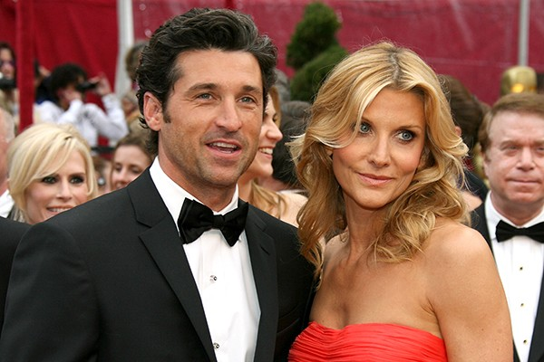 Patrick Dempsey e Jillian Fink (Foto: Getty Images)