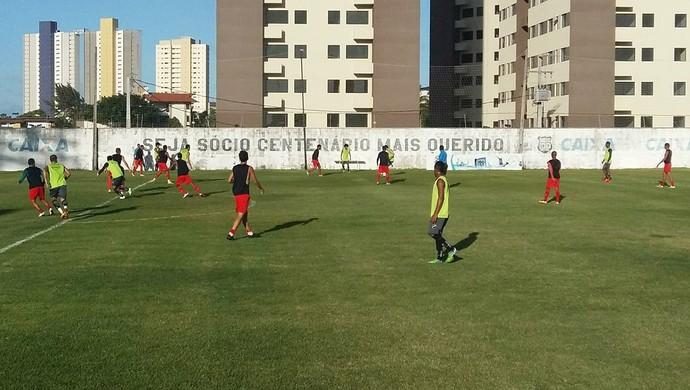 RN - ABC jogo-treino Atlético Potengi CT Alberi Ferreira de Matos (Foto: Jocaff Souza/GloboEsporte.com)
