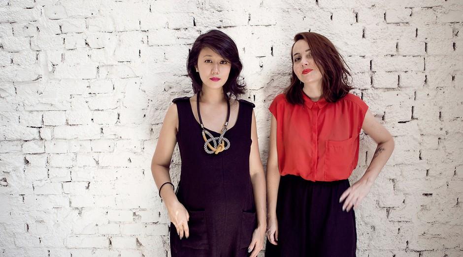 Cinthia Yamazaki e Aline Vilhena, sócias e fundadoras do Achadinhos (Foto: Divulgação)