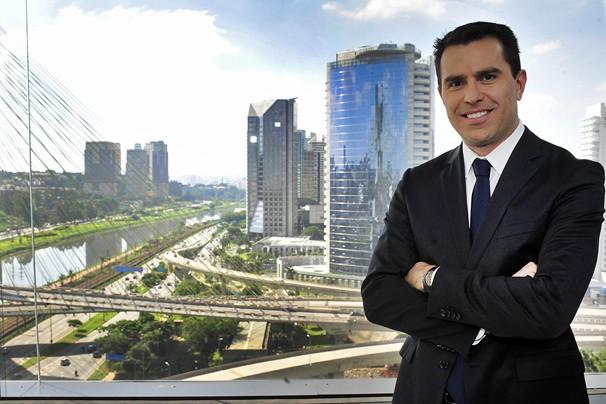 O jornalista Rodrigo Bocardi é o apresentador do Bom Dia São Paulo a partir de segunda-feira, da 6 de maio (Foto: Reinaldo Marques/Globo)
