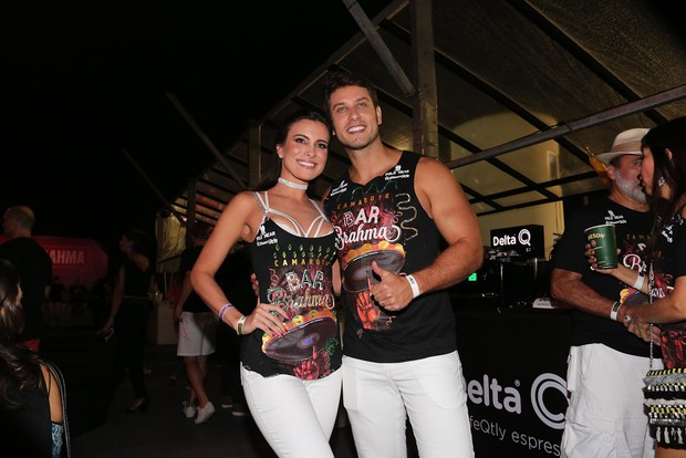 Kamilla Salgado e Elieser (Foto: Cláudio Augusto/Brazil News)