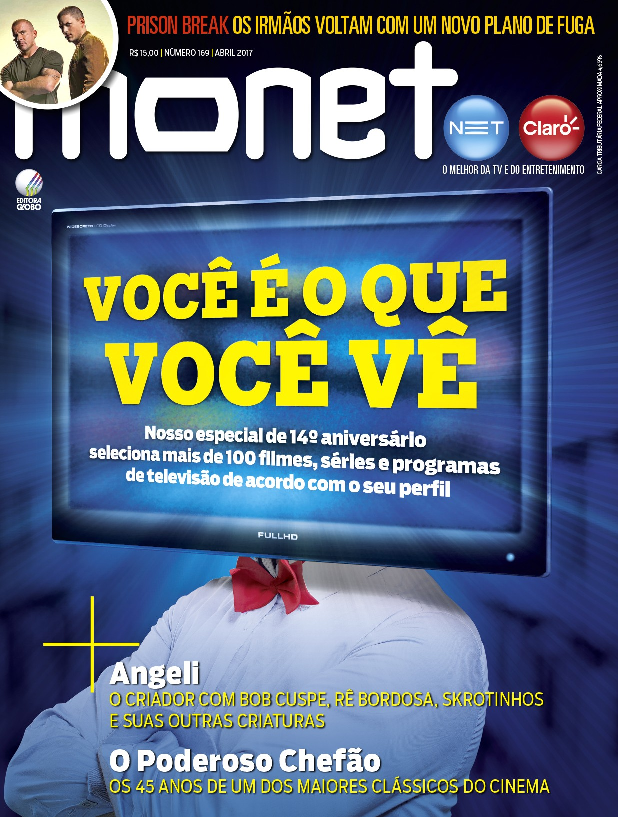 Revista Monet - Edição 169 - Abril/2017 (Foto: Monet)