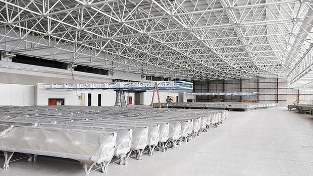 Obras aeroporto galeão (Foto: Fabrício Marques / Globoesporte.com)
