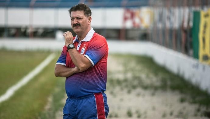 Leandro Campos, técnico do Itabaiana (Foto: Fillipe Araújo )