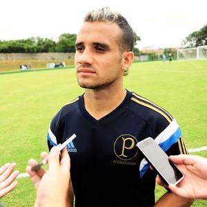 Maikon Leite Treino do Palmeiras (Foto: Marcos Ribolli)