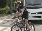 Prefeito de Ponta Grossa deixa carro e vai de bicicleta ao trabalho