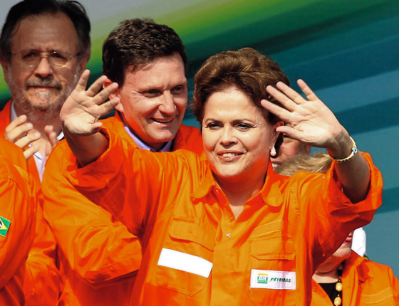 A ex-presidente Dilma Rousseff (Foto:  WILTON JUNIOR/ESTADÃO CONTEÚDO)