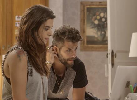 Loretta vem aí! Mario liga para a mãe e a convida para visitar os filhos no Brasil