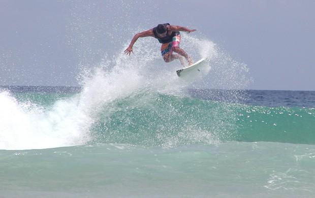 jano belo, surfista paraibano na Califórnia (Foto: Divulgação)