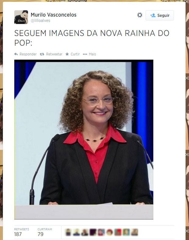 Sorriso de Luciana Genro inspirou internauta (Foto: Reprodução/Twitter/lilloalves)