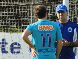 Dagoberto e Marcelo Oliveira Cruzeiro (Foto: Tarcísio Badaró)