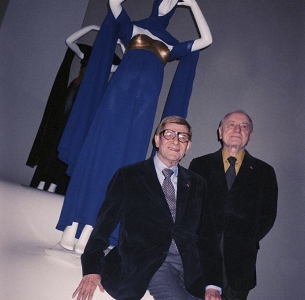 Yves and Pierre: from my personal SUZY FILE (Foto: @SUZYMENKESVOGUE)