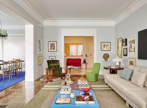 sala-estar-sofá-bege (Foto: Victor Affaro)