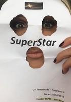 Fernanda Lima improvisa máscara nos bastidores do 'Superstar'