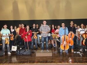 Orquestra de Cordas da Fundec faz apresentação de estreia em Sorocaba (Foto: Divulgação/ OS2 Comunicação)