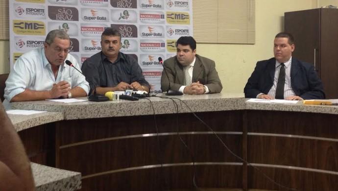 FCF, Federação Cearense de Futebol, Guarany de Sobral, Tiradentes (Foto: Tatiana Alencar/TV Verdes Mares)